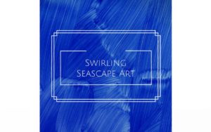 How to Make this Swirling Seascape Art for Kids